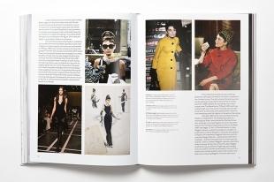 """Páginas dedicas a la actriz Audrey Hepburn en """"Fashion in Film""""."""